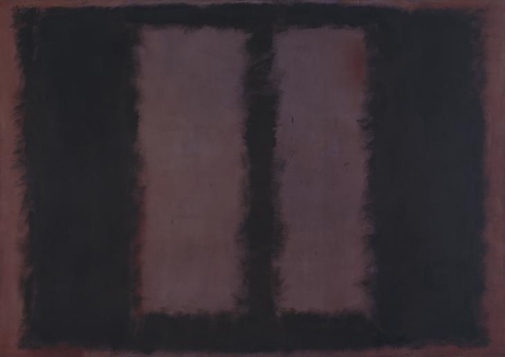 Mark Rothko, Black on Maroon, 1958