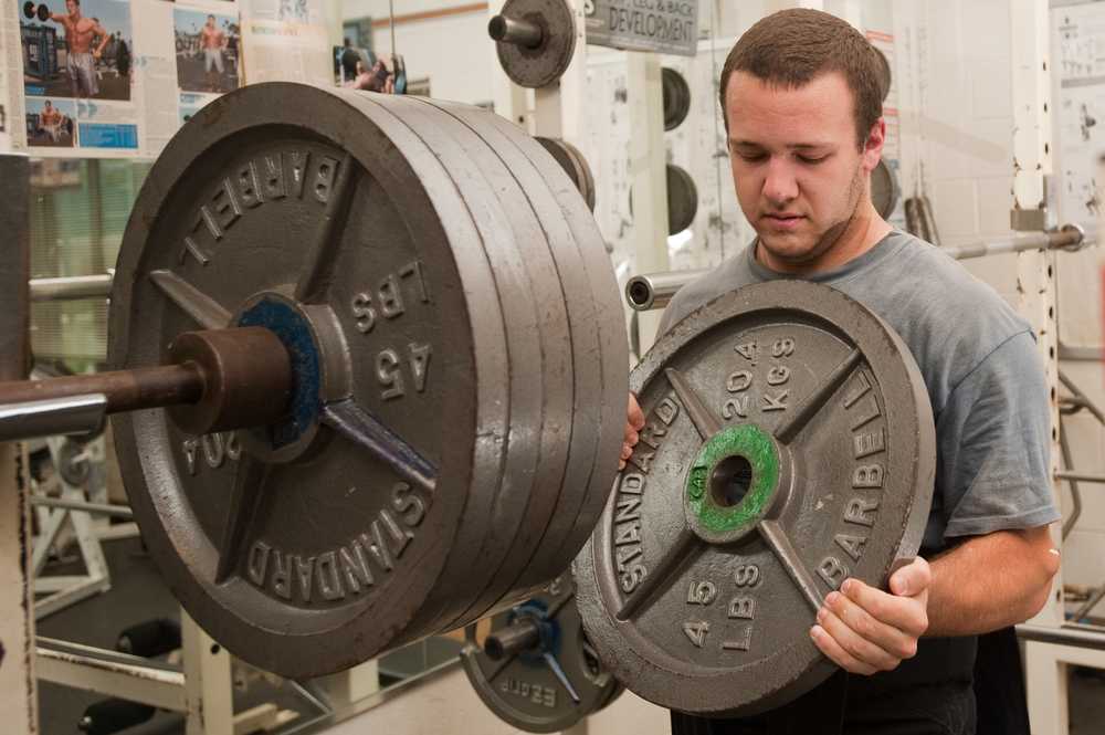 Scott Hanna trains for the IPAWorld Powerlifting and Bench Press Championships in York, PA. During the championship Hanna completed a squat of 605, bench of 320, and deadlift of 525 totaling 1450 pounds.