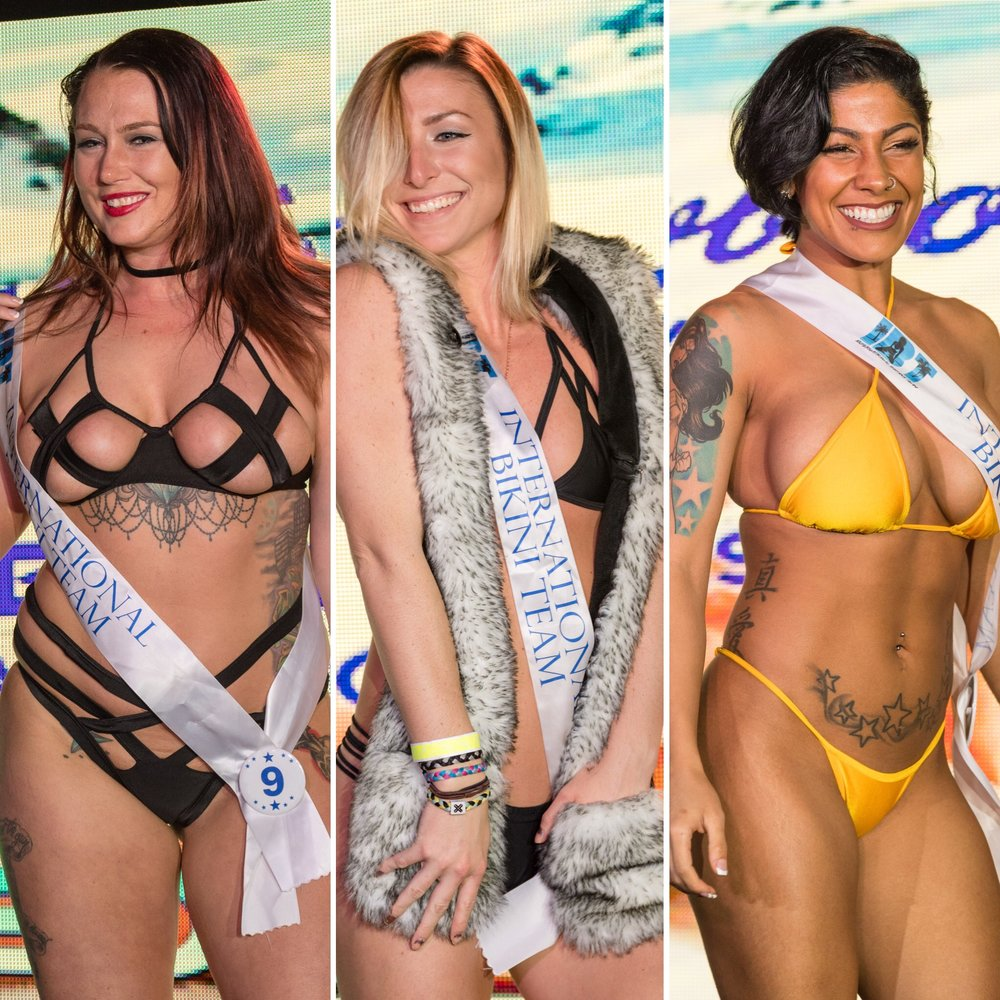 2018 @coastaledge Miss ECSC Pageant Preliminary Round #1 held at @peabodysnightclub presented by iHeartRadio, vbjaycees, Fireball Whisky, and @ibtmodels. The top 4 advanced to the semi-finals in August at the 56th Annual @ecscsurf Coastal Edge East Coast Surfing Championships Presented by Vans and Fueled by @monsterenergy