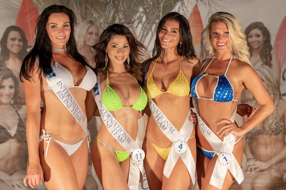 Winners from Preliminary Round 2 of the 2018 @coastaledge Miss ECSC Pageant held at Bucketheads Beach Grill Presented by #DoctorStonersVodka ALT 105.3 Chesapeake Bay Distillery iHeartRadio Virginia Beach Nightlife International Bikini Team - Model Search Events & Promotions