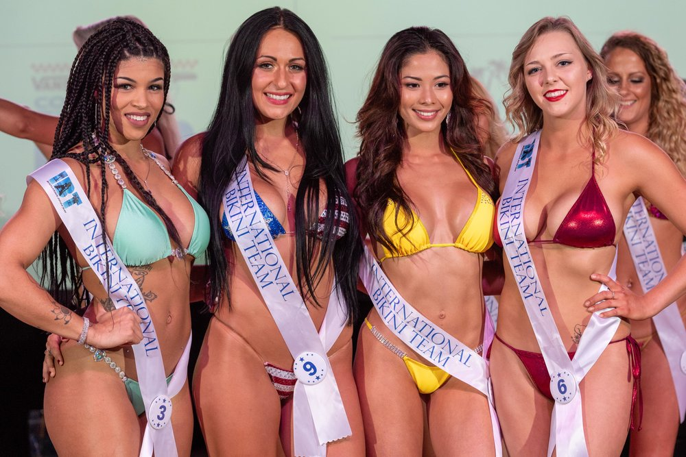 Winners from Preliminary Round 3 of the 2018 @coastaledge Miss ECSC Pageant held at @beachhouselive Presented by #DoctorStonersVodka ALT 105.3 Chesapeake Bay Distillery iHeartRadio Virginia Beach Nightlife International Bikini Team