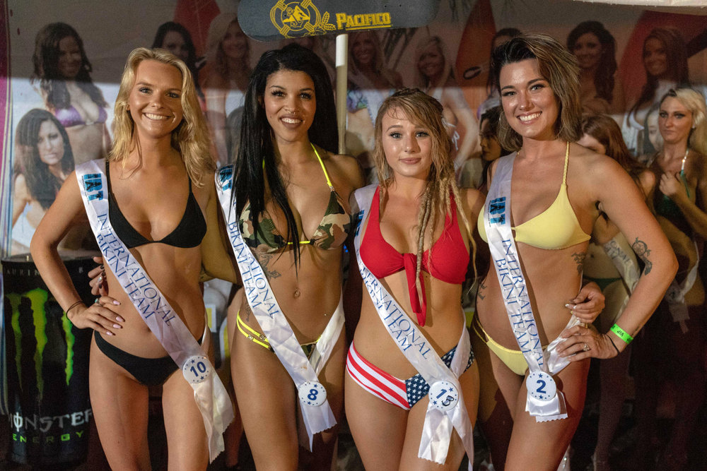 Winners from preliminary Round 5 of the 2018 @coastaledge Miss ECSC Pageant held at @bluepetesrestaurant Presented by @pacificobeer DoctorStonersVodka ALT 105.3 Chesapeake Bay Distillery iHeartRadio Virginia Beach Nightlife International Bikini Team