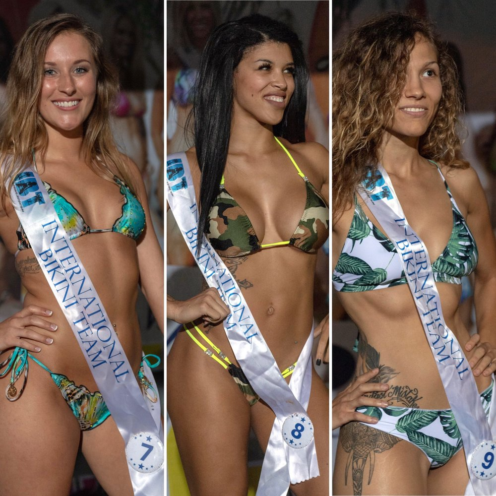 Preliminary Round 5 of the 2018 @coastaledge Miss ECSC Pageant held at @bluepetesrestaurant Presented by @pacificobeer DoctorStonersVodka ALT 105.3 Chesapeake Bay Distillery iHeartRadio Virginia Beach Nightlife International Bikini Team