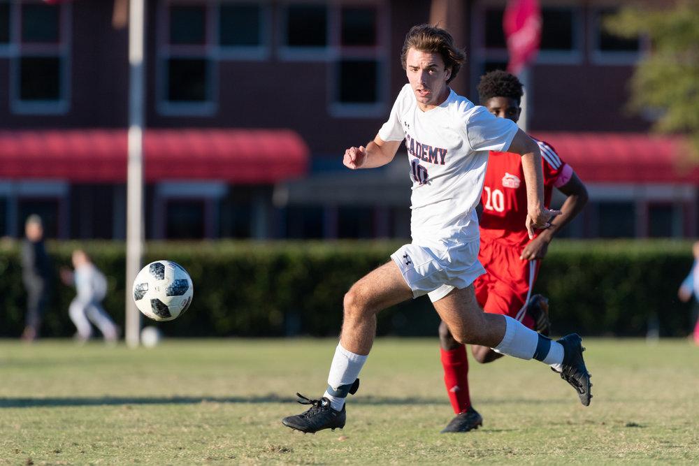 Boys Soccer: Norfolk Academy vs Cape Henry Collegiate