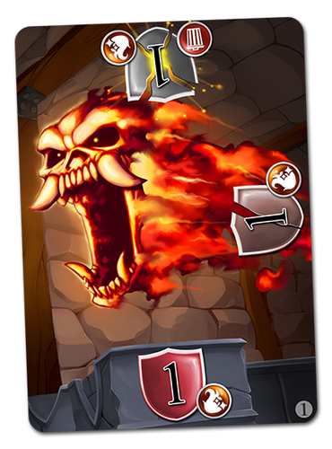 Fireball Defense Card