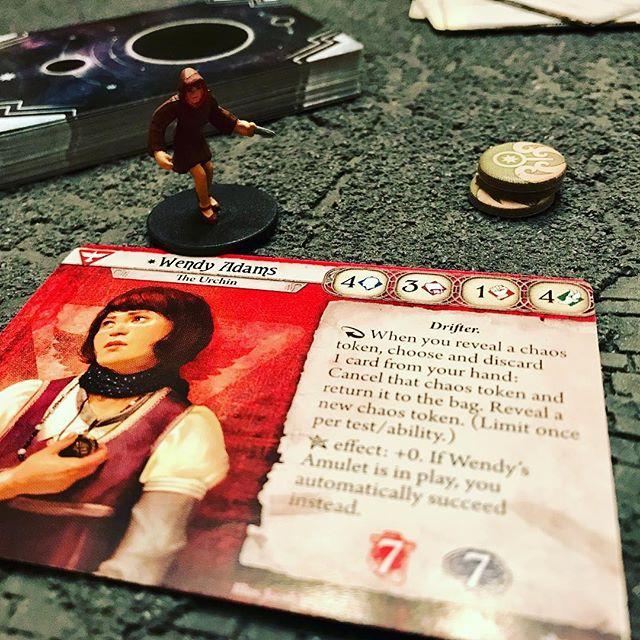 Wendy Adams. Arkham Horror The Card Game. @fantasyflightgames
