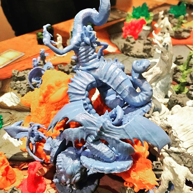 The biggest fight on the smallest space on the board.#cthulhuwars