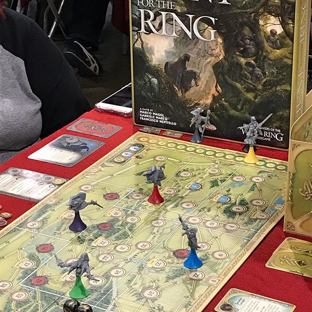 Hunt for the Ring from Area is beautiful and quite good. #PAXUnplugged