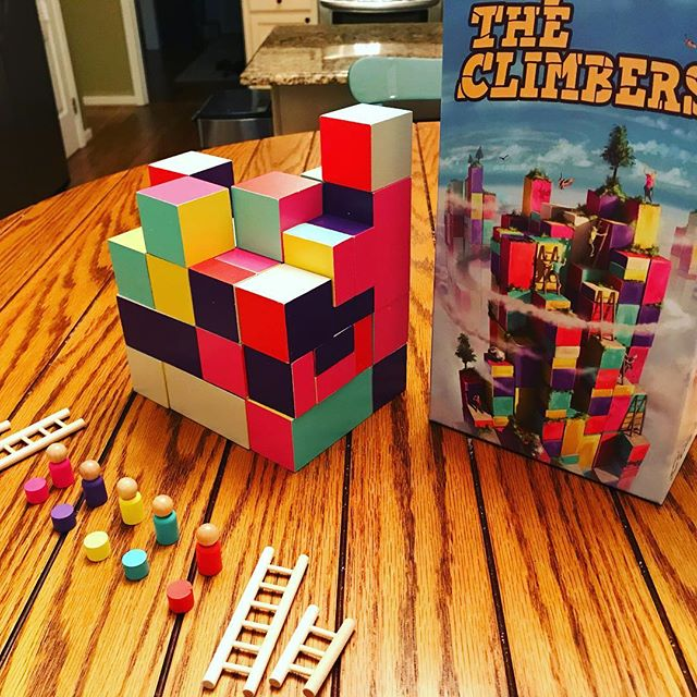 About to try The Climbers. #boardgames