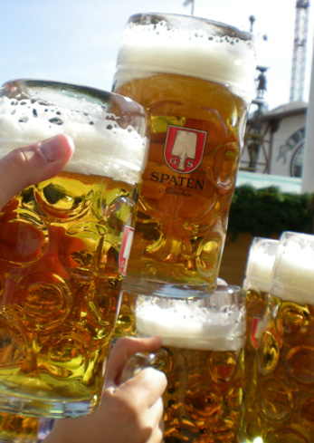 Glassware Is Important For An Authentic Oktoberfest Event The Mass Or Masskrug A One Liter Glass Mug Typical Way Beer Served At