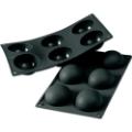 Moule demi-sphères (pour mieux démouler, utiliser des moules en plastique ou inox)