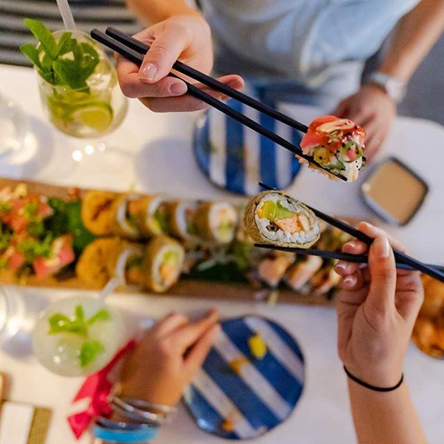 Dinner for one, two or three ? We got you. 😉 Which #SushiRolls are your most favourite? #weloveiko #ikowien #ikofamily 📸 @wynnflorante . . #foodievienna #foodbloggers #restaurantvienna #bestofvienna #falstaffgastro #foodorabest #asianiton #sushi #kikkoman #moscowmule #dinnertimeasianvienna
