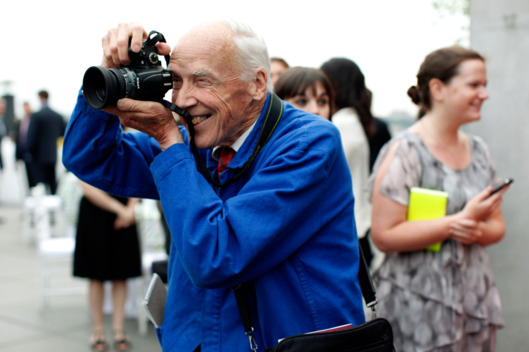The loss of fashion photographer Bill Cunningham was a huge loss this year. He inspires me so much!