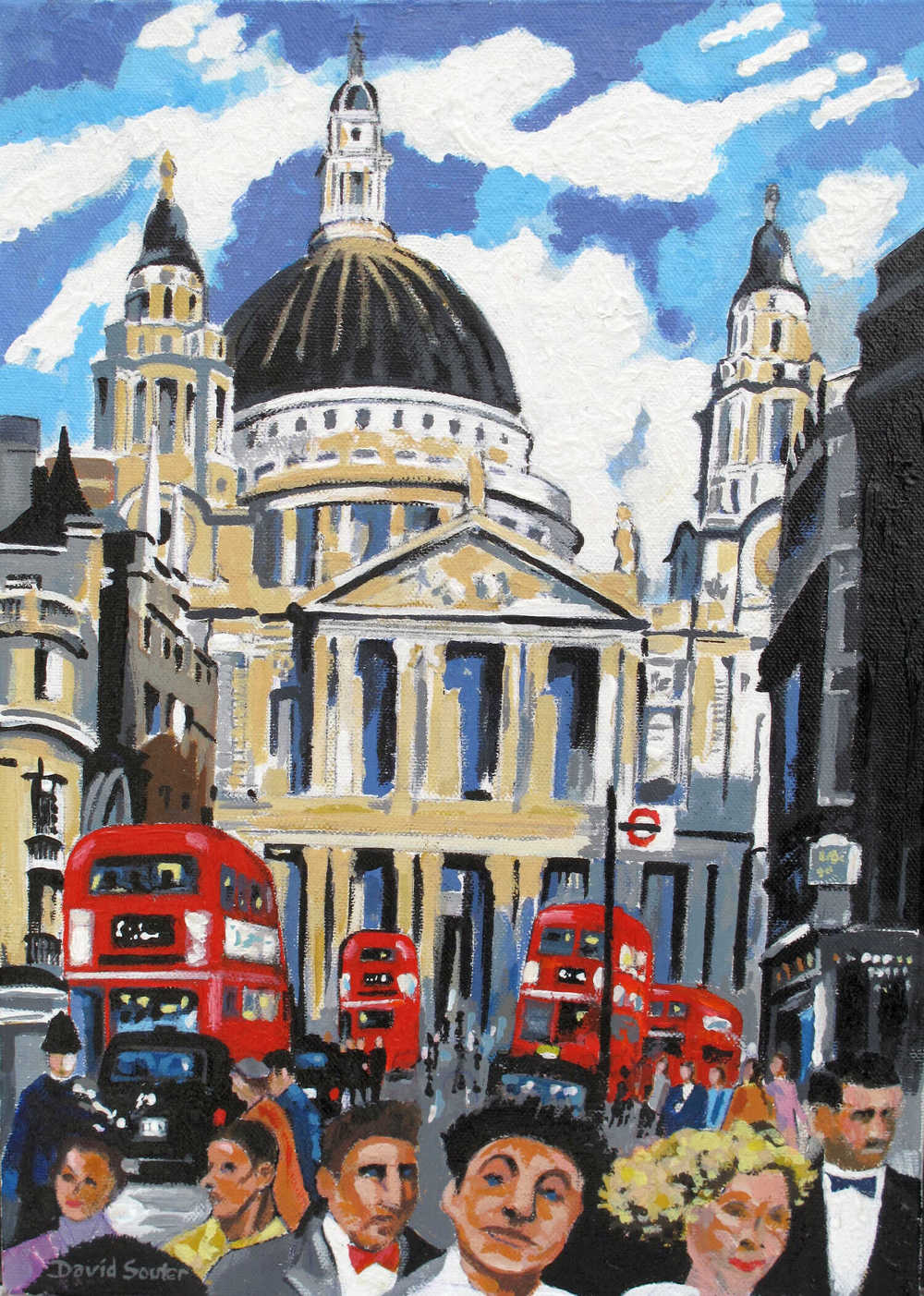 Rush hour St. Pauls
