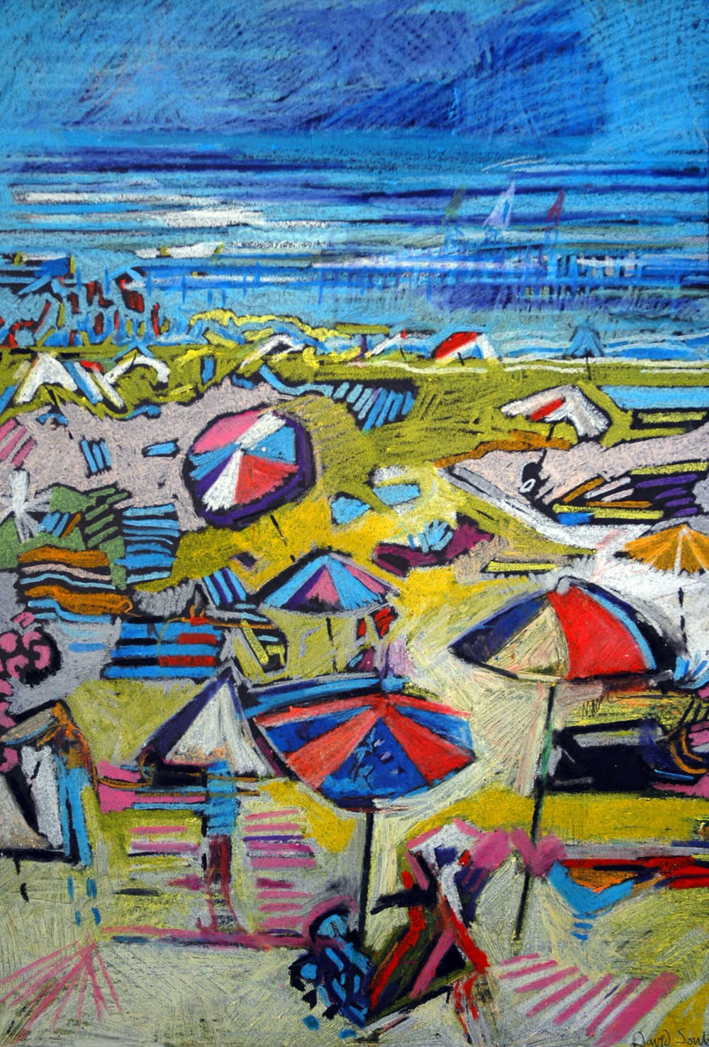 Beach umbrellas 2