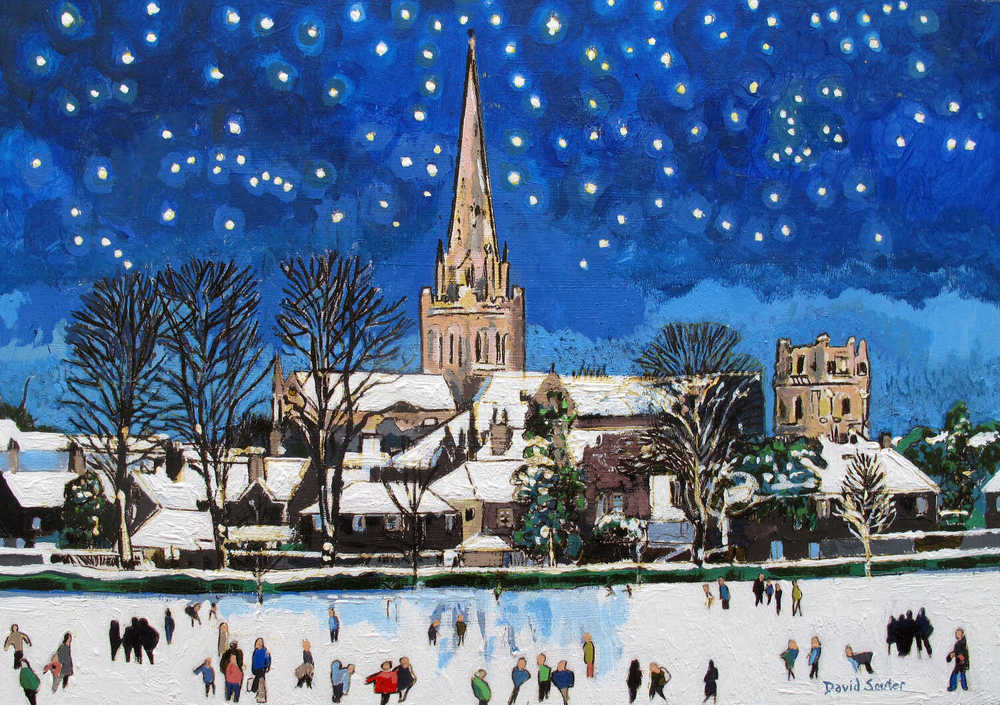 Starry night Chichester