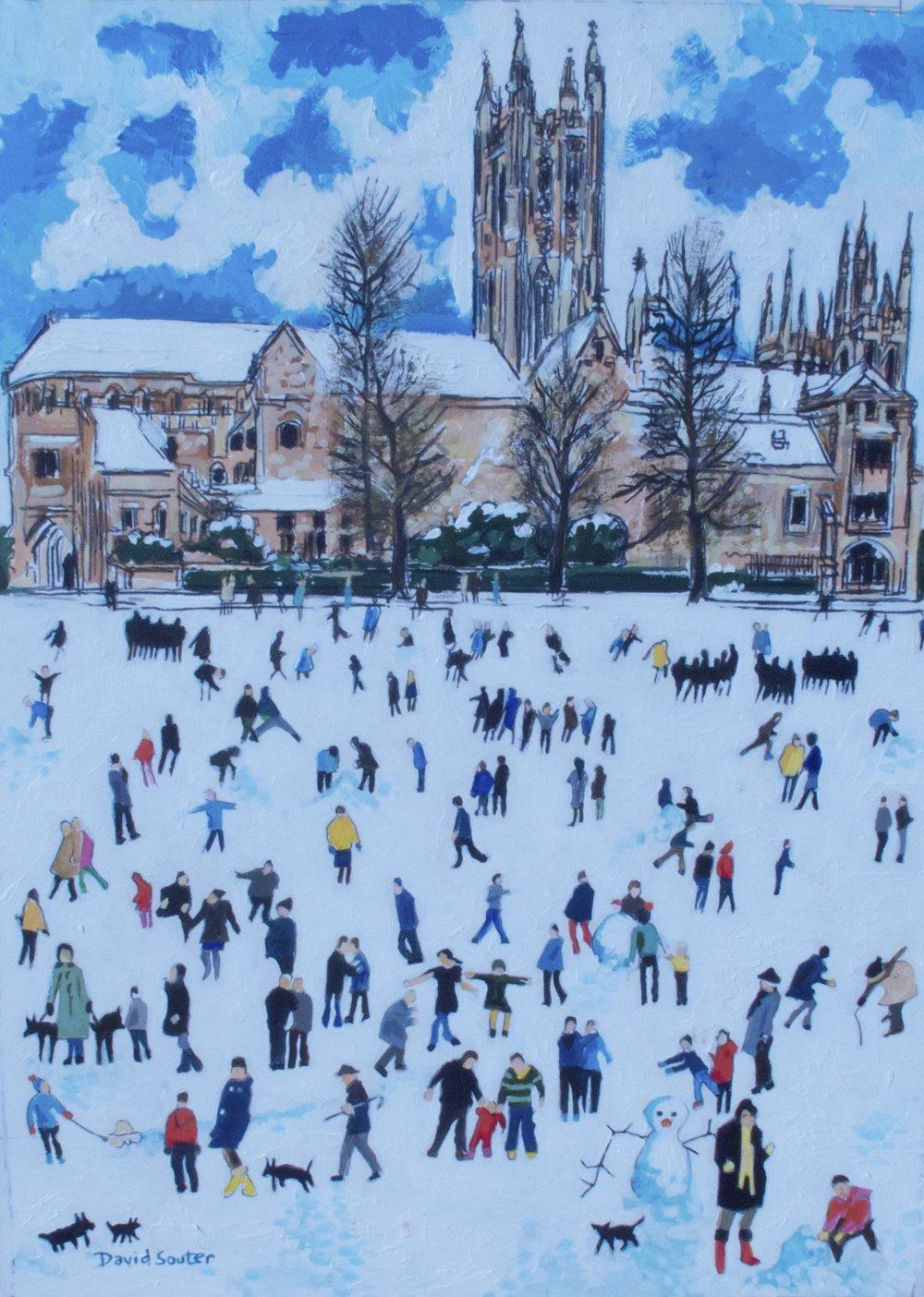 Snow play Canterbury