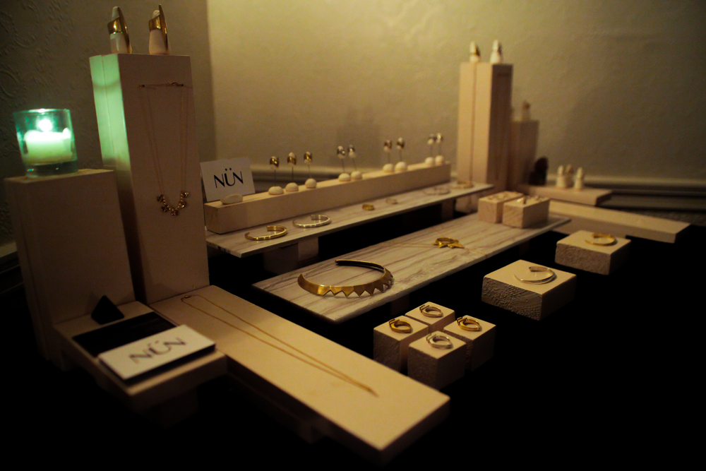 Hand crafted jewelry by NUN NYC  Photo Daniel William McKnight