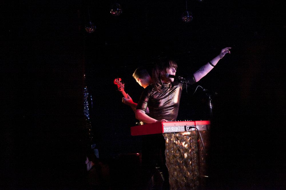 Samantha Madely shot: @whirlywindz Closing at The Horseshoe, March 19