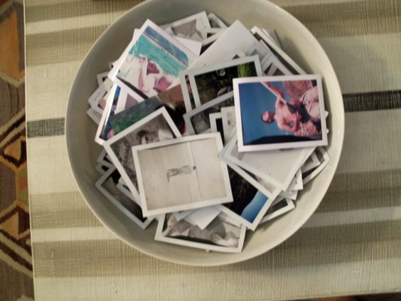 Polaroid Bowl