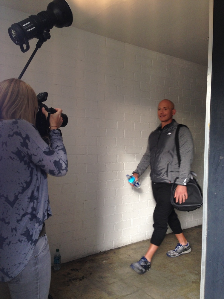 Shooting with celebrity trainer & nutritionist Harley Pasternak for Smartwater. Motion & Stills by Brook Pifer.