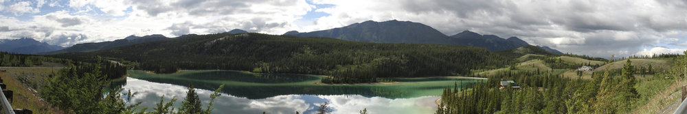 Emerald Lake Yukon, Summer