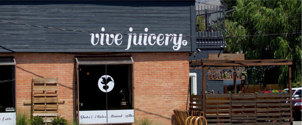 vive juicery's trendy location on 1100 east in sugar house.