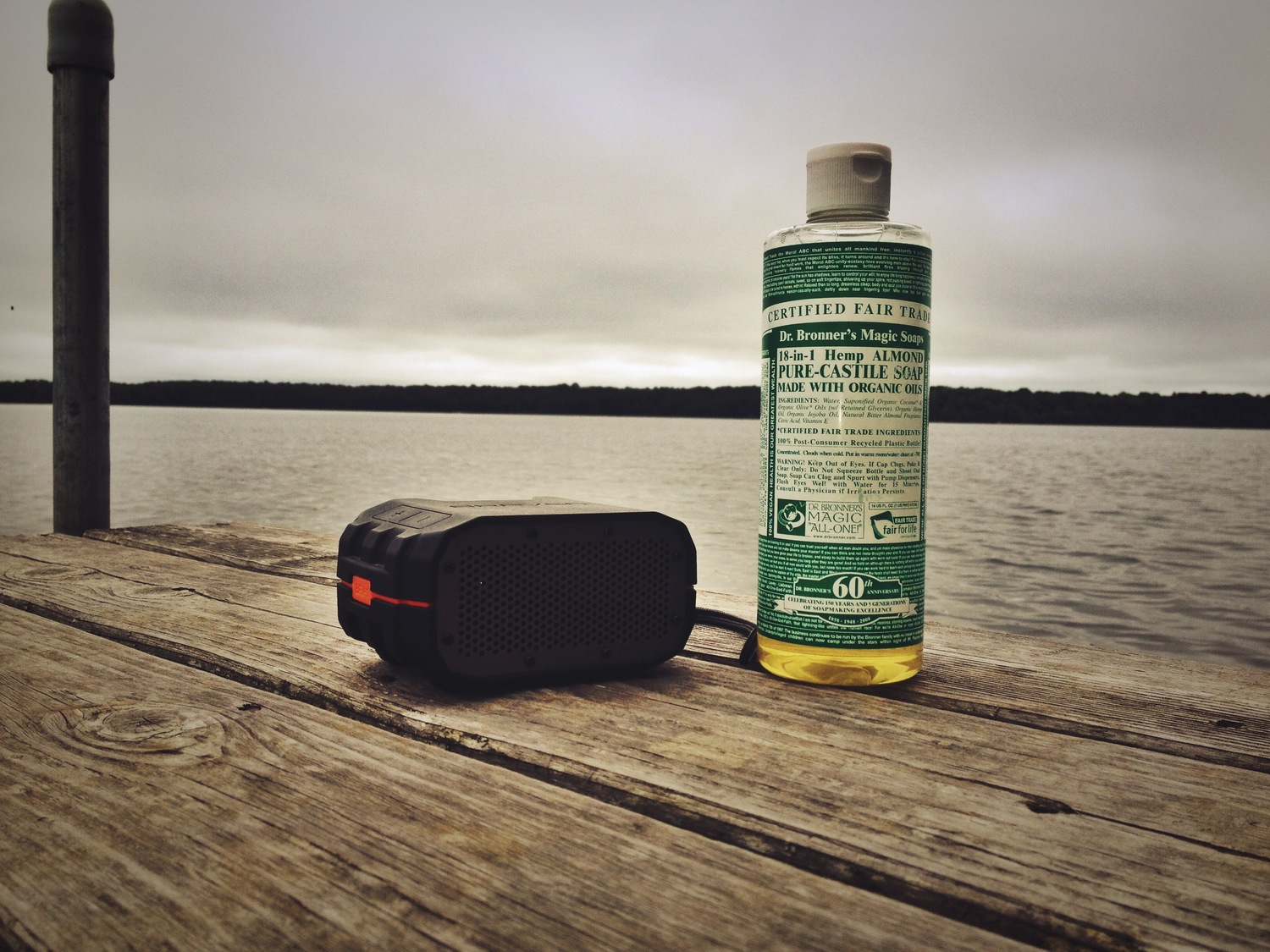 Confessions of a Dr  Bronner's 18-in-1 Almond Soap Huffer