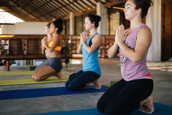 Yoga classes at the Hulakai Hotel in Playa Maderas, Nicaragua. Join Wild Vibes November 13-19th on an all inclusive, soul-filled yoga, surf, and art retreat in this spot!