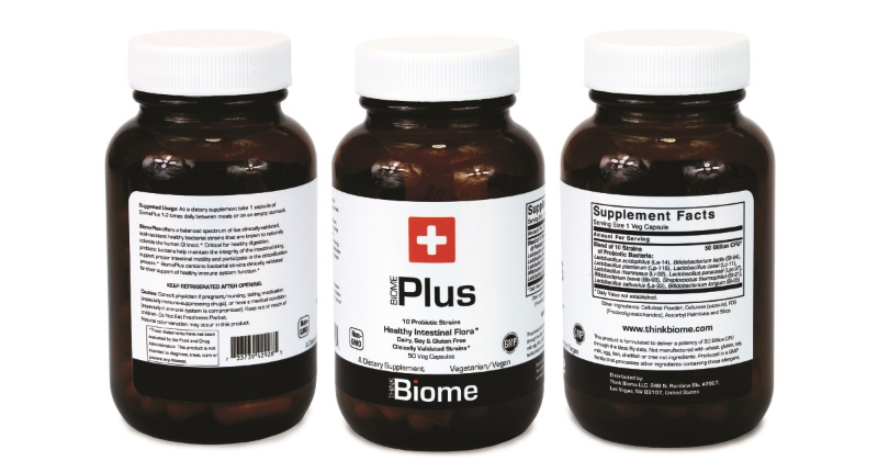 Biome Plus probiotic