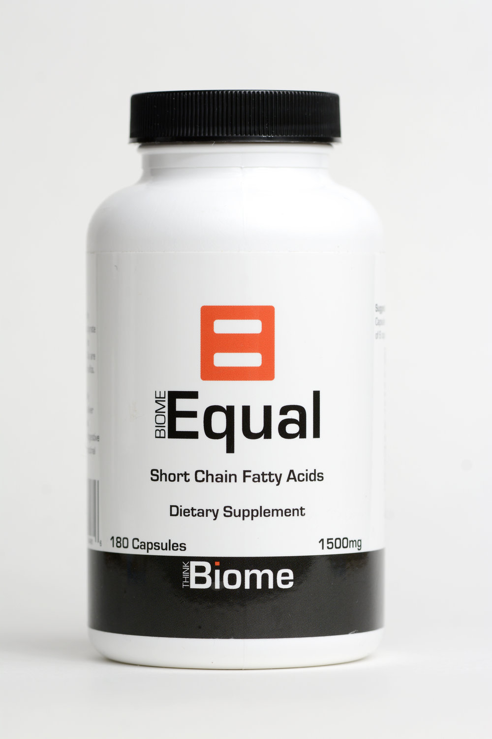 Biome Equal complete postbiotic - UNIQUE SHORT CHAIN FATTY ACID SUPPLEMENT. Contains sodium butyrate and propionate! Banish gut inflammation and fortify your gut microbiome environment.Suggested UsageAs a dietary supplement take 1-2 Capsules of BiomEqual with each meal up to a total of 6 capsules per day.Supplement Facts180 Capsules 30 Days supplyServing Size 2 Capsules  (750mg/capsule)Serving Per Container 90Amount Per Serving 1500mg                                                     % Daily Values*Sodium Butyrate           1200mg            †Sodium Propionate        300mg            †* Percent Daily Values are based on a 2,000 calorie diet.† Daily Value not established