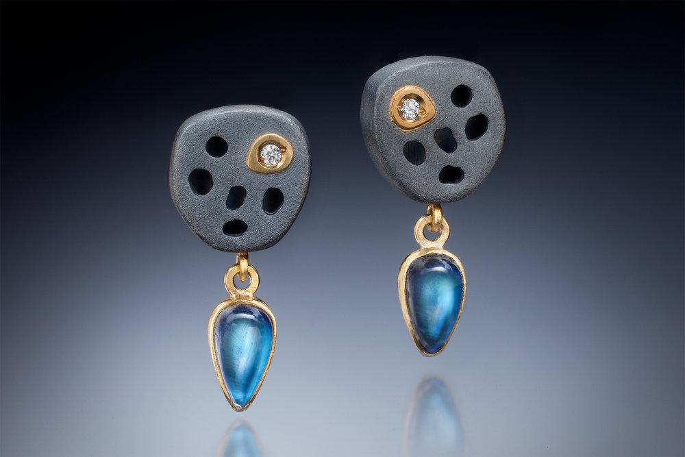Lilypad Earrings