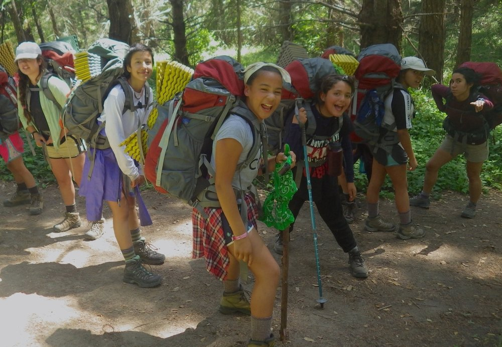 REDWOOD ADVENTURE    A 7-day adventure for girls   and gender expansive youth entering 6th or 7th grade.