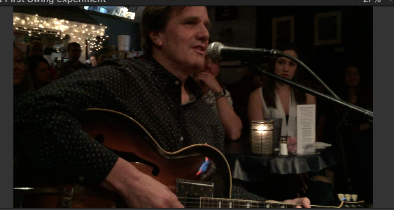 Henry at Bluebird Cafe