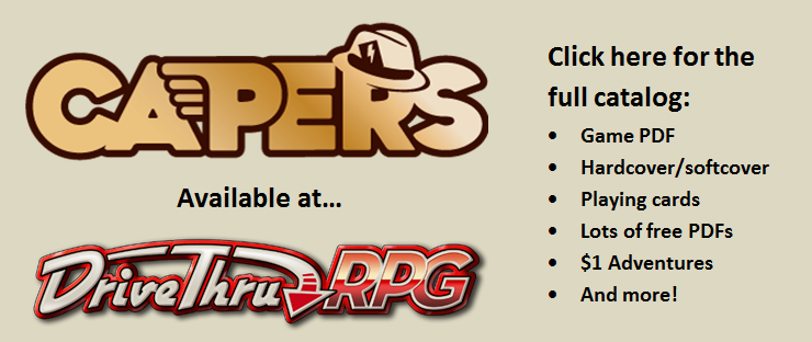CAPERS DTRPG Promo.png