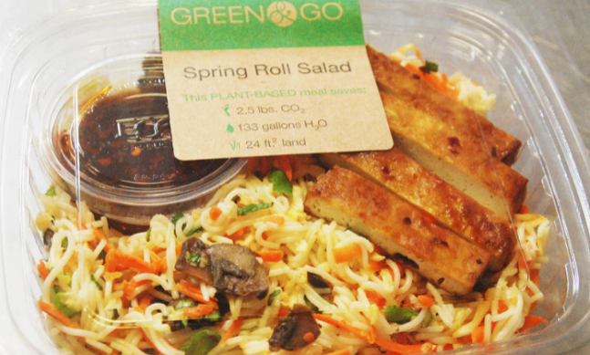 Green & Go delivers the quantifiable results of their sustainability efforts right on the packaging