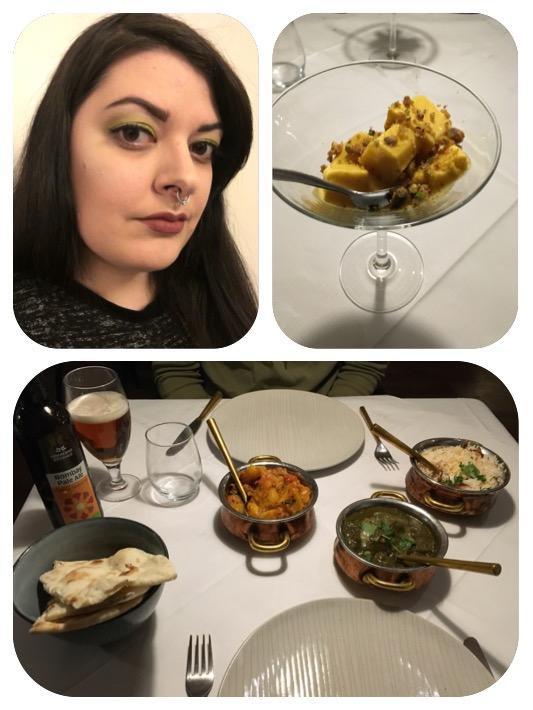 Dinner date with my boyfriend