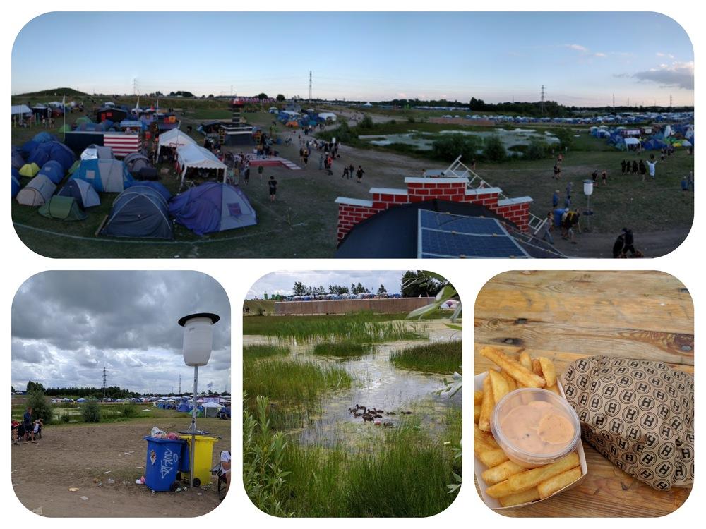 From Daniel at Roskilde Festival.