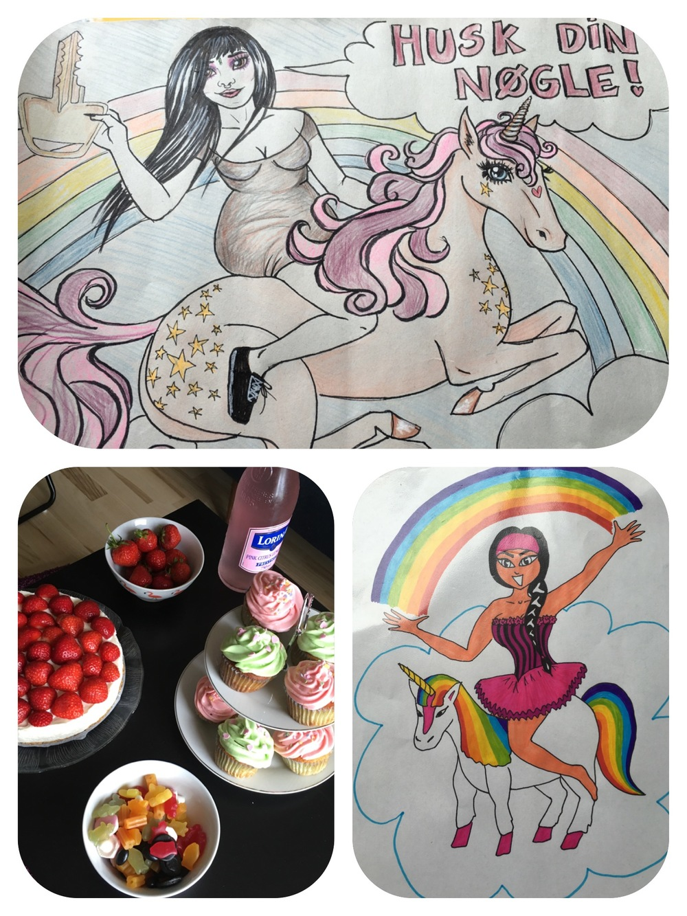 Coco the Unicorn & CAKE!