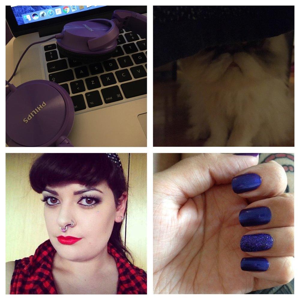 Things I like: music, Indira, Makeup.
