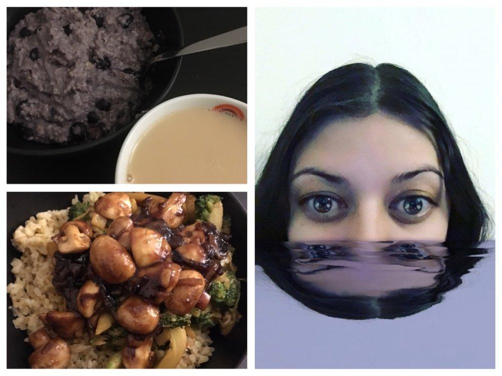 My vegan dinner