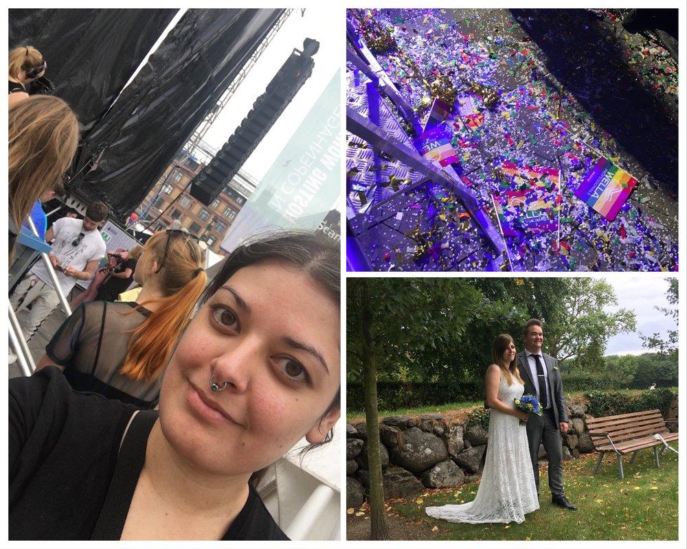 Copenhagen Pride and another wedding