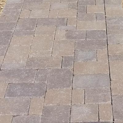 interlocking paver driveway