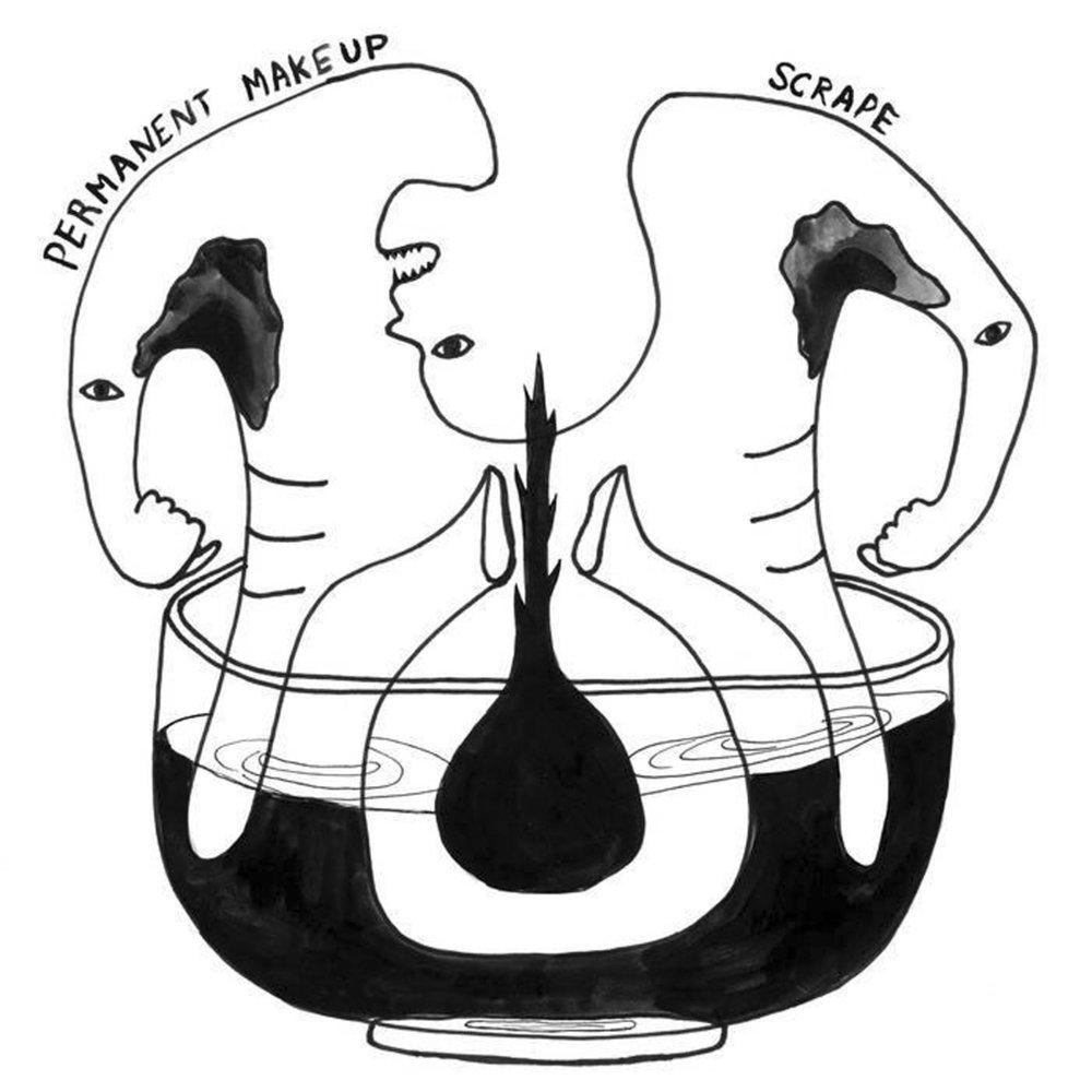Permanent Makeup - Scrape LP - SOLD OUT