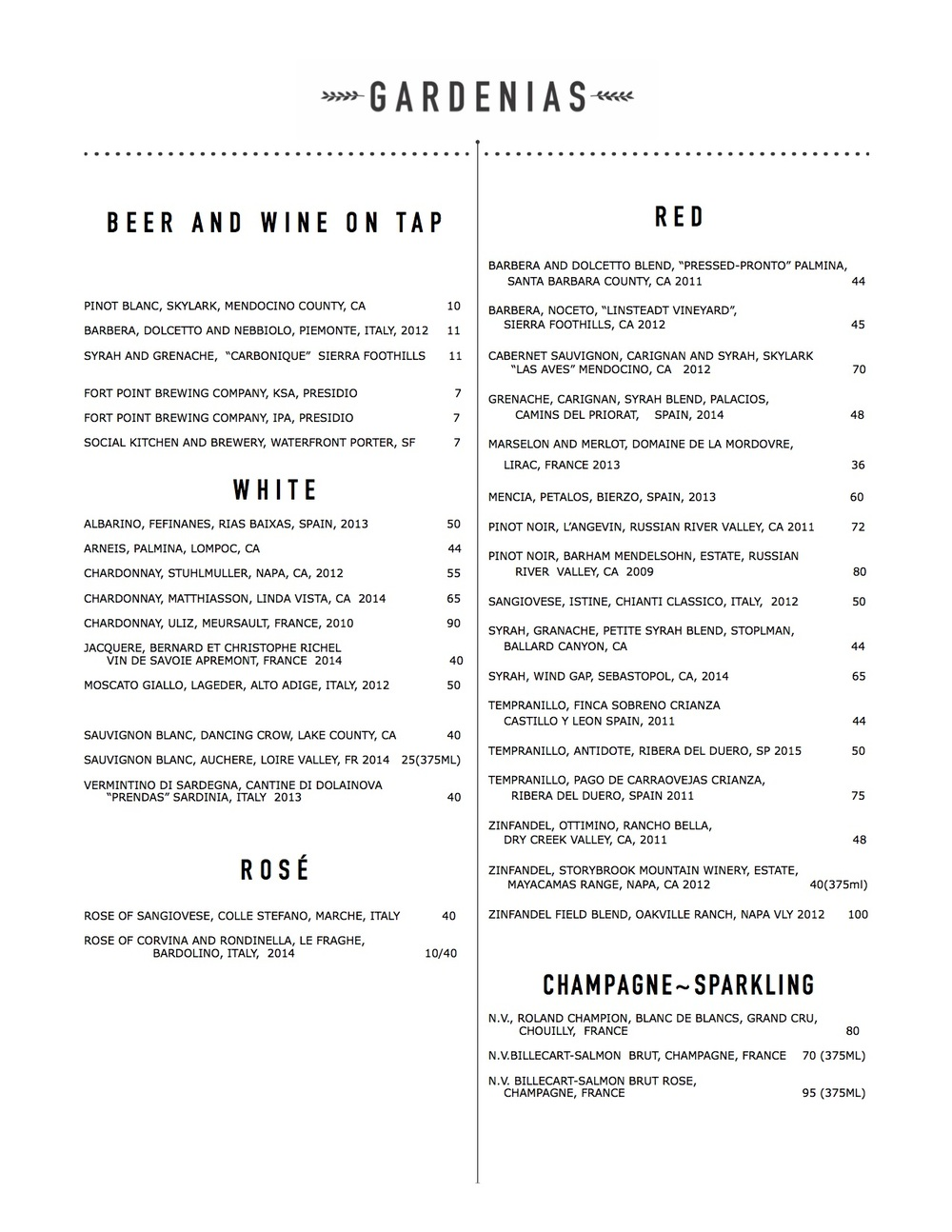 Gardenias menu Wine  December 2015 .jpg