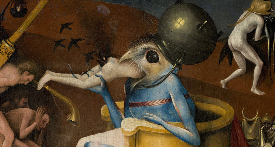 HIERONYMUS BOSCH: TOUCHED BY THE DEVIL  showing at the PMA :  Friday, October 28, 2016 - 2:00pm  Friday, October 28, 2016 - 6:30pm  Saturday, October 29, 2016 - 2:00pm  Sunday, October 30, 2016 - 2:00pm