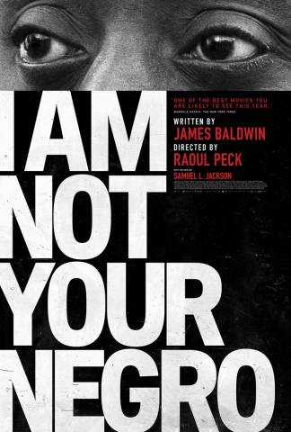 i am not your negro showing at pma april 15th and 16th at 2pm