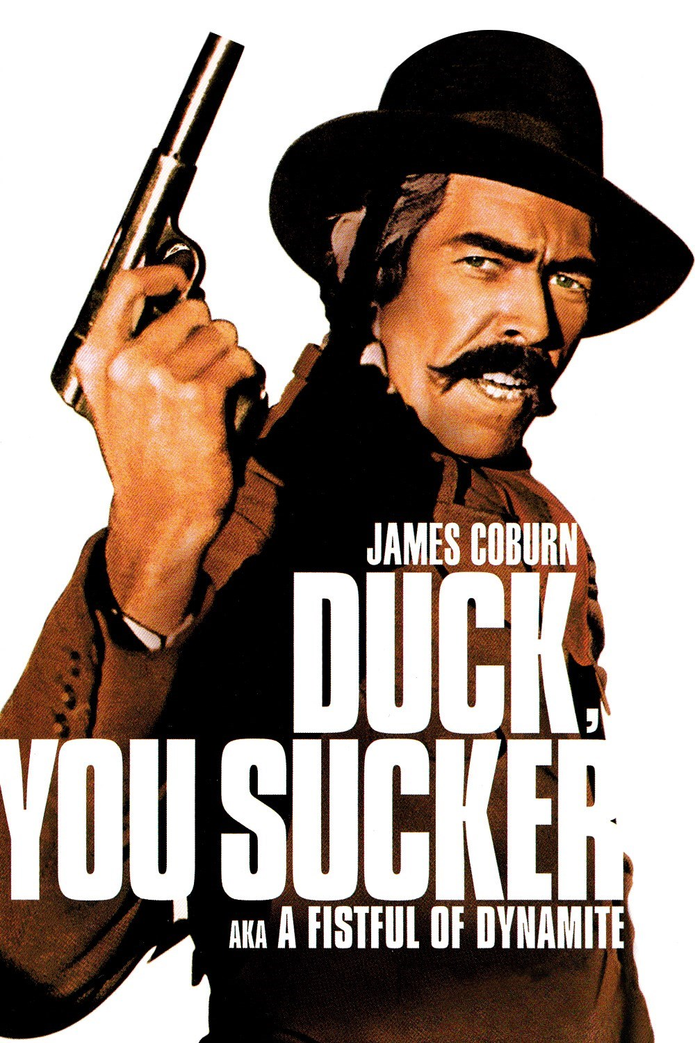 35mm screening of Sergio Leone's 1971 classic Duck You Sucker showing April 17th at 7pm at the Waterville Opera House