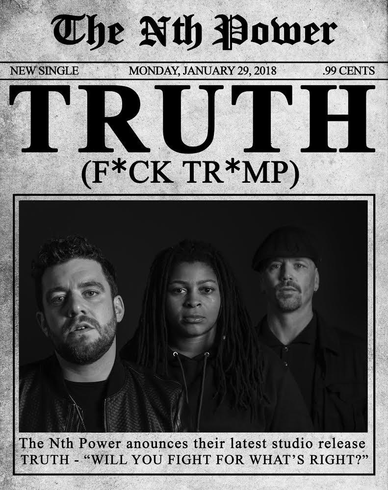 "The Nth Power announce New Single And Video ""Truth,"" Winter Tour and New Album in 2018   - Drummer Nikki Glaspie will also guest with Late Night with Seth Meyers House Band January 29-February 1 on NBC."