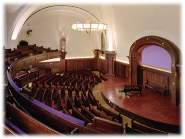 The auditorium at NYSEC